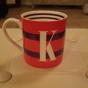 """KATE SPADE """"TO THE LETTER"""" COFFEE CUP"""
